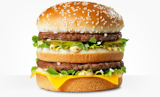 image of a Big Mac burger